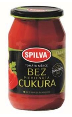 Picture of SPILVA - Tomato sauce sugar free, 500ml (box*6)