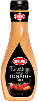 Picture of SPILVA - Tomato-Chilli Dressing, 380ml (box*6)