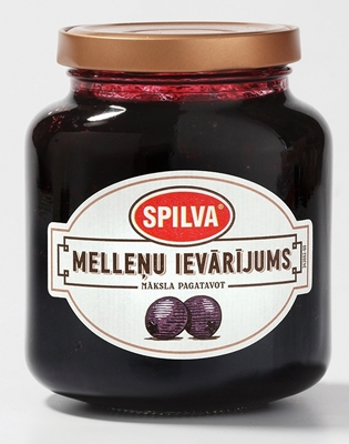 Picture of SPILVA - Blackberry jam, 362 ml (box*12)