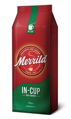 "Picture of MERRILD - Roasted ground coffee ""Coffee in Cup"", 250g (box*12)"