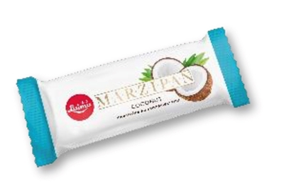 Picture of LAIMA - Marzipan sweet with coconut, 40g (box*16)