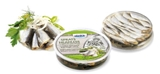 Picture of IRBE - Sprats (headless) in marinade with onions, 250 g (box*10)