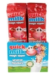 Picture of FUTURUS FOOD - Straws for milk with strawberry flavour 30g (5X6g) (box*20)