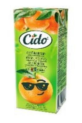 Picture of CIDO - Orange nectar 0,2l (box*18)