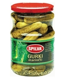 Picture of SPILVA - Pickled cucumbers (6-9cm) 1600ml/900g (box*6)