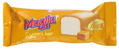 "Picture of MAGIJA - Glazed curd cheese ""Magija"" with Toffe glaze , 22% fat 45g (box*20)"