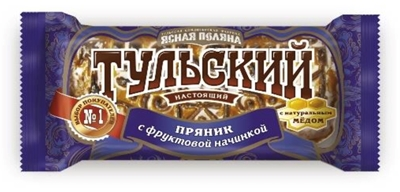 Picture of UNIKONF - Gingerbread Tulskij with fruit filling, 140g (box*22)