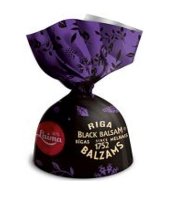 Picture of LAIMA - Dark chocolates with Riga black balsam Currant cream 1kg  (box*5)