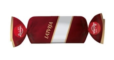 "Picture of LAIMA - Chocolate candies with crunchy pieces of biscuits ""Latvia"", 1kg (box*8)"