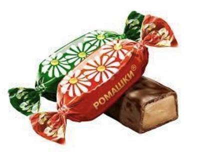 "Picture of UNIKONF - Chocolate sweets ""Romashki"", 1kg (Box*7)"