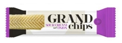 Picture of SNACK GENERATION - Grand potato chips  sourcream and onion, 90g (box*16)