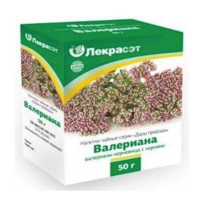 Picture of LEKRASET - Valerian Tea / Baldriana, 50g
