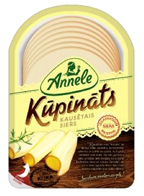 Picture of ANNELE - Annele cheese smoked sliced, 150g (box*14)