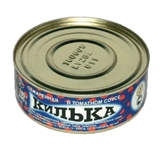 Picture of BRIVAIS VILNIS - Baltic sprats fried in tomato sauce, 240g (box*48)