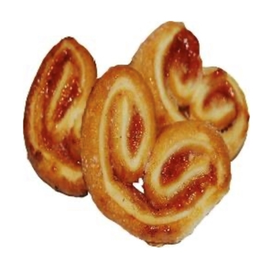 "Picture of FUTURUS FOOD - Cookies ""Ears"" with jam, 2kg £/kg"