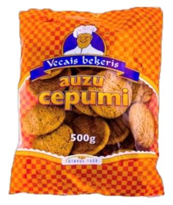Picture of Vecais Bekeris - Oat cookies, 500g (box*8)