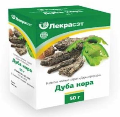 Picture of LEKRASET - Ozola miza tejas dzeriens / Oak bark, 50g
