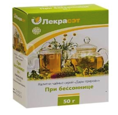 Picture of LEKRASET - Tejas izlase miegam / Collection for insomnia, 50g