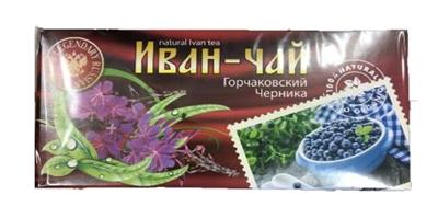"""Picture of TIAVIT - Tea Drink """"Gorchakovsky"""" Blueberry, 20 × 1.5g"""