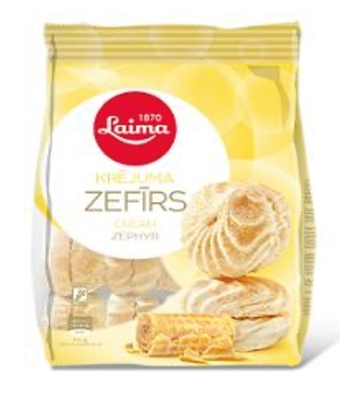Picture of LAIMA - Cream marshmallow 200g (box*12)