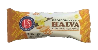 Picture of LATSWEETS - Peanuts halva 19gx6 (box*8)