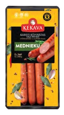 Picture of KEKAVA - Chicken sausages Mednieku / Hunter's, 400g