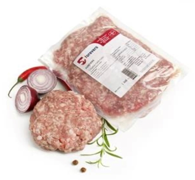 Picture of FOREVERS - PORK minced meat frozen ~0.8-1.2kg £/kg