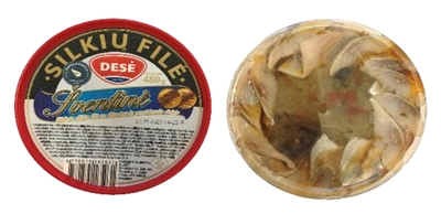 """Picture of DESE - Herring fillet with dried tomatos""""Sventine"""", 480g"""