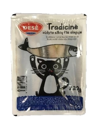 """Picture of DESE - Herring fillet in oil """" Tradicine"""", 220g"""