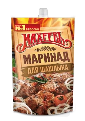 Picture of MAHEEV - Marinade for shashlik 250g (b0x*16)