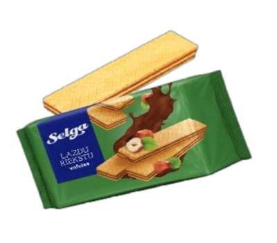 Picture of LAIMA - SELGA wafer with hazelnut taste 90g (box*28)