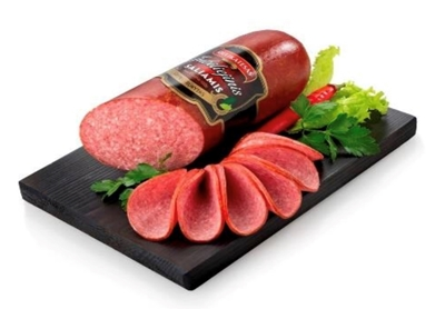 """Picture of BM - Cold smoked sausage """"Jubiliejinis salami"""" ±600g £/kg"""