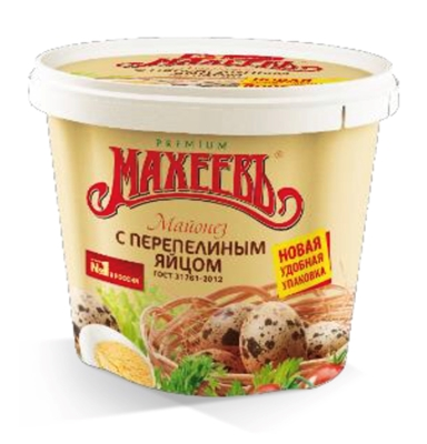 Picture of MAHEEV - Mayonnaise Muhe Muna 50.5%, 880g (box*12)