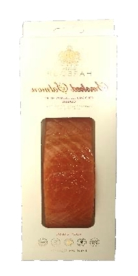 Picture of ROYAL NORDIC - Cold smoked atlantic salmon fillet, 150g £/pcs (box*6)