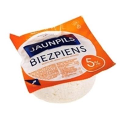Picture of Jaunpils pienotava -curd cheese, whole milk 5%, 0,275g  (box*12)
