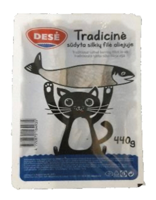 "Picture of DESE - Herring fillet in oil "" Tradicine"", 440g"