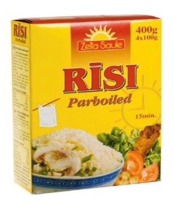 Picture of FUTURUS FOOD - Rice Parboiled 4x100g (box*20)