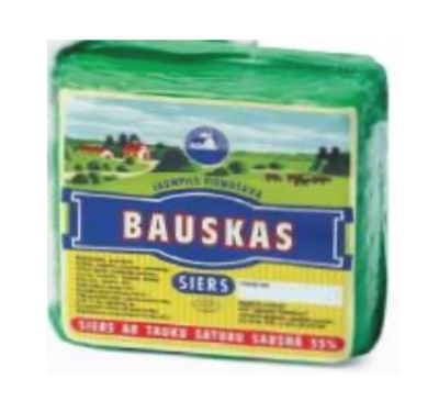 Picture of Jaunpils pienotava - Cheese BAUSKAS 35% 800 - 1000g £/kg
