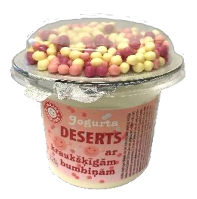 Picture of MAJAS GARDUMS - Yogurt dessert with crunchy rose balls, 220g (box*6)