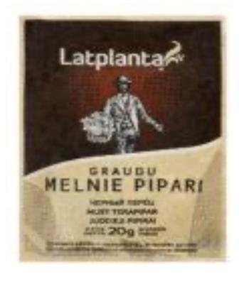 Picture of LATPLANTA - Whole black pepper, 20g (in box 20)