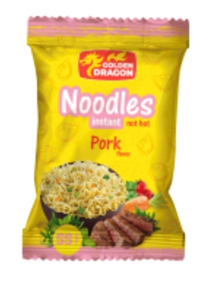 Picture of FUTURUS FOOD - Noodles with pork flavour ,Golden Dragon 55g (box*104)