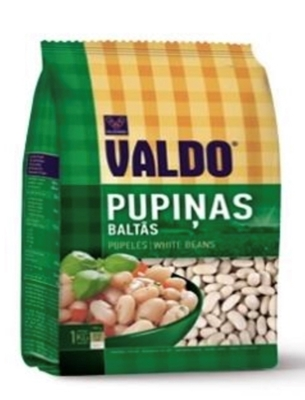 Picture of VALDO - White beans (pupinas baltas) 1kg (box*14)