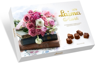 "Picture of LAIMA - Assortment of chocolates Laima ""Books"", 190g (box*14)"