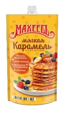 "Picture of Maheev - Topping ""Soft caramel"" with condensed milk, 300g"