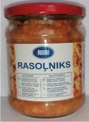 Picture of RIORI - Rasolnik soup 500g (box*6)