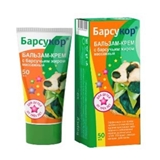 Picture of Barsukor - Massage balsam-cream for children  with badger fat, 50ml (box*6)