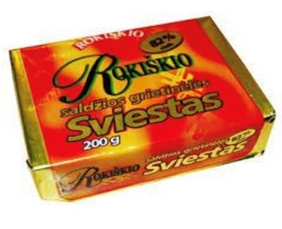 Picture of Rokiskio pienas - Butter Rokisko 82% 200g (box*30)