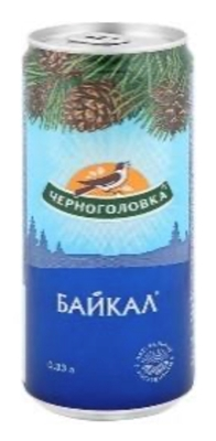 "Picture of CHERNAGALOVKA - Drink lemonade ""Baikal"" 0.33L (box*12)"