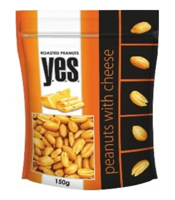 Picture of GRANEX - Roasted peanuts with cheese Y.E.S 150g (box*12)