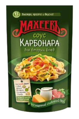 "Picture of MAHEEV - Souce ""KARBONARA"" 250g (box*16)"